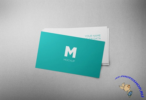 Business Card Mock-up PSD Template
