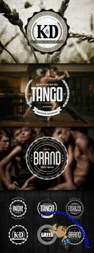 CreativeMarket 34663 - Badges & Logos Vol.05