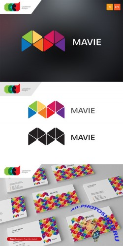 Mavie - Logo Template plus Business Card