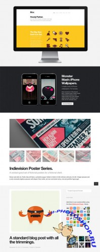 CreativeMarket - Blox WordPress Theme