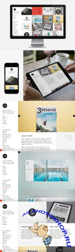 CreativeMarket - Mesh WordPress Theme