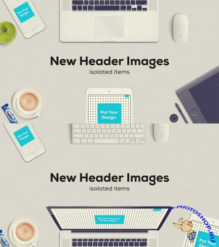 CreativeMarket - New Header Images