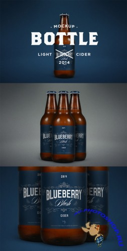 CreativeMarket - Light Cider Mock-Up