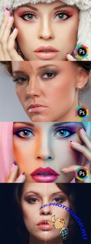 CreativeMarket - Beauty Retouching Kit
