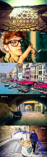 CreativeMarket - Cross-Process Lightroom Presets