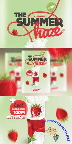 CreativeMarket - Summer Haze Cocktail Party