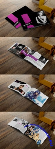 CreativeMarket - Fashion & Beauty Brochure Template