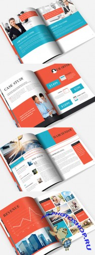 CreativeMarket - Corporate Brochure Template