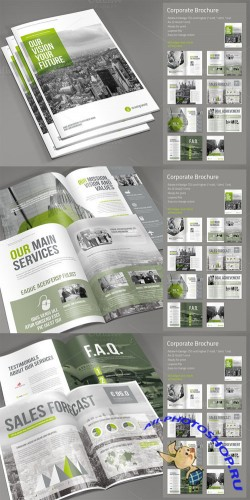 CreativeMarket - Corporate Brochure