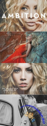 "CreativeMarket - ""Ambition"" 