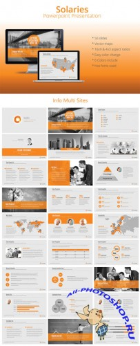 CreativeMarket - Solaries Powerpoint Template