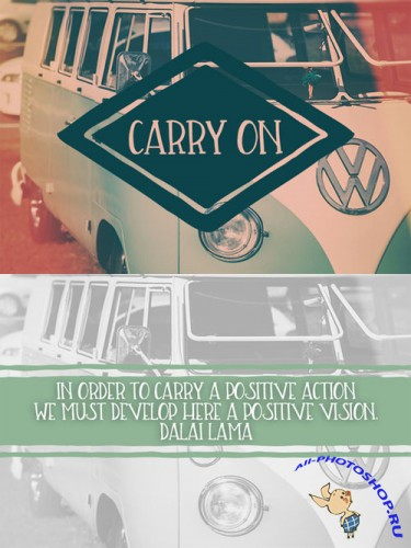 CreativeMarket - Carry On Font
