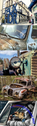 Faux HDR Lightroom Presets - CreativeMarket