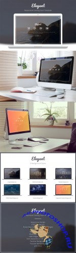 CreativeMarket - Elegant - Coming Soon Template