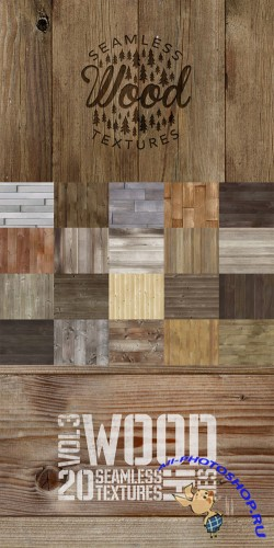 CreativeMarket - Wood Texture Pack 2