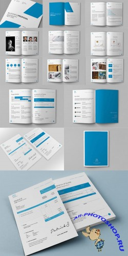 CreativeMarket - Clean Proposal & Brief Template