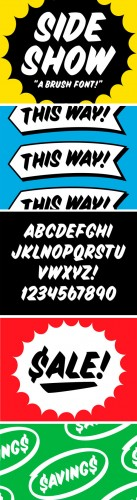 Sideshow Display Font Family