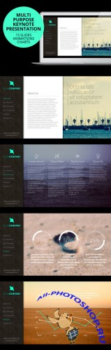CreativeMarket - Corporate Multipurpose Keynote 45410