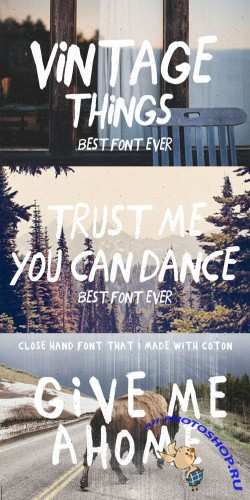 CreativeMarket - Close hand made 58212