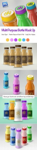 CreativeMarket - Multi-purpose Bottle Mockups