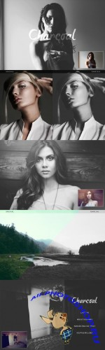 Charcoal Action - CreativeMarket