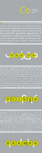 Co Font Family