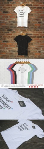 Clothing Brand T-Shirt Mockups