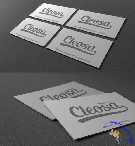 2 Business Card Mock ups PSD