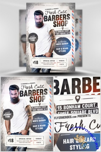 Fresh Cutz Flyer Template
