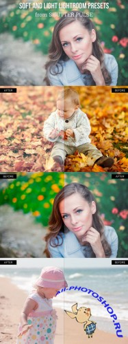 Soft and Light Lightroom Presets