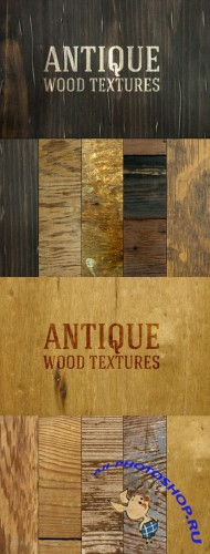 Antique Wood Texture Set