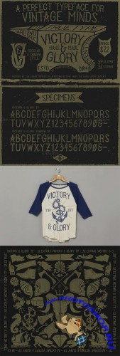 Victory and Glory TP Font plus Extras