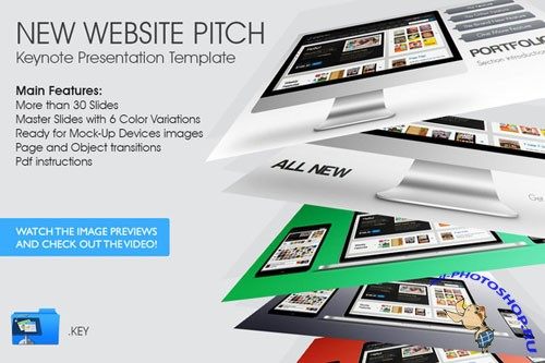 New Website Pitch - Creativemarket 37299