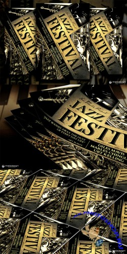 Jazz Festival Flyer Template - CM 90482