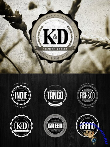 Badges & Logos Vol.05 - Creativemarket 34663