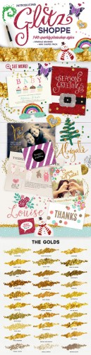 The Glitz Shoppe - Creativemarket 116177