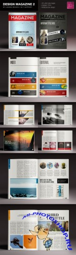 Design Magazine 2 - Creativemarket 123617