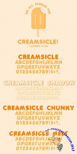 Creamsicle - 4 Flavors - CM 22773