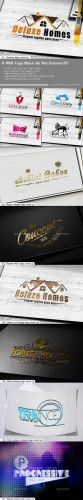 8 PSD Logo Mock Up Set Volume 01 - Graphicriver 9755268