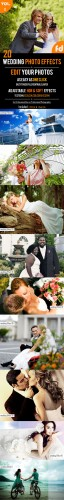20 Wedding Photo Effects - Graphicriver 10485733