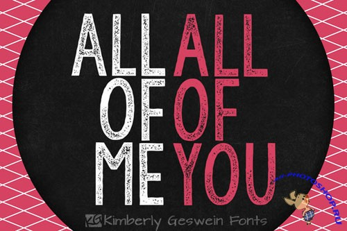 KG All of Me - Creativemarket 26243