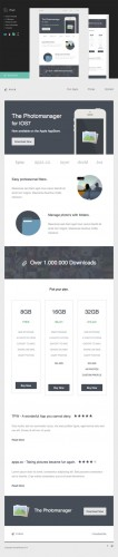Pixlr Email Template + Builder - CM 34603