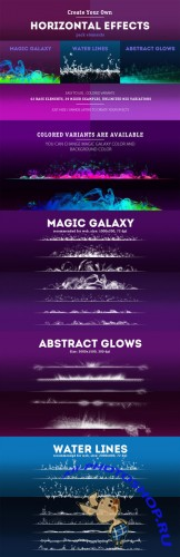 Horizontal Effects Pack - Creativemarket 87204