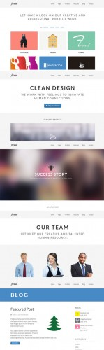 Farad WordPress Theme - Creativemarket 8418