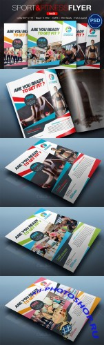 Sport & Fitness Flyer Vol.05 - Creativemarket 165117