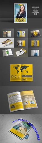 Business Brochure 32 Pages - Creativemarket 196724