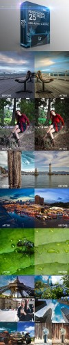 25 HDR Retro Old Effect Lightroom Presets - Graphicriver 8122864