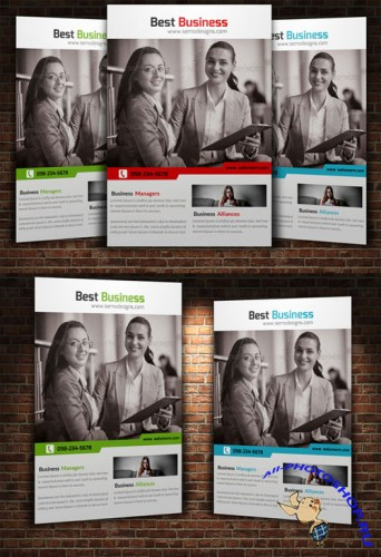 Creativemarket Creative Business Flyer Template 225126