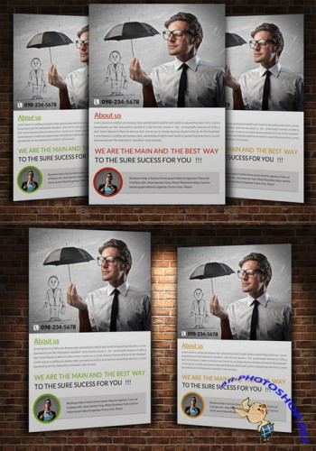 Creativemarket Creative Business Flyer Template 225087