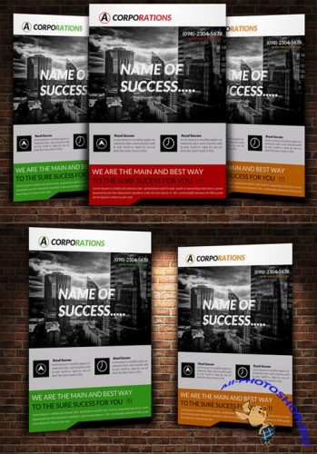 Creativemarket Creative Business Flyer Template 225188